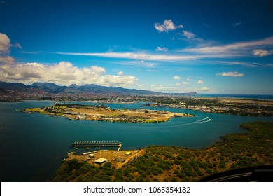 Pearl Harbor from the air