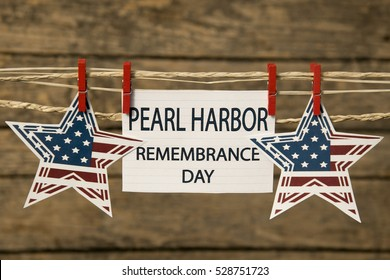 Pearl Harbor Remembrance day card.