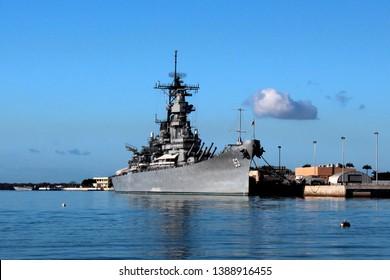 Pearl Harbor USS Arizona WWII Battleship Hawaii