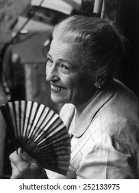 Pearl S. Buck (1892-1973), photograph 1960