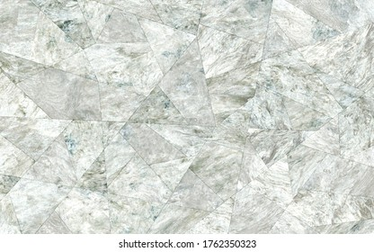 Pearl texture in faceted pattern