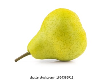 pears path isolated on white background