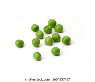 Peas - Isolated on White Background