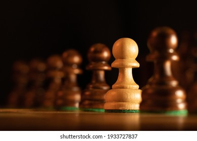 peasant row on the chessboard