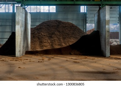 peat fraction, at the processing plant