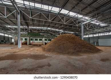 peat production factory
