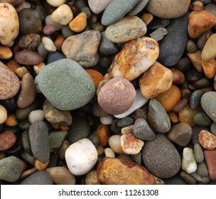Pebble beach background