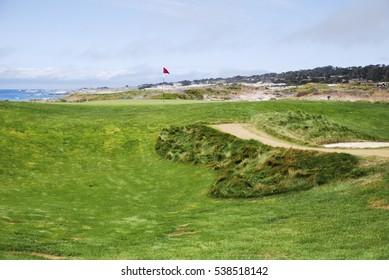 Pebble Beach Golf Course in Pebble Beach