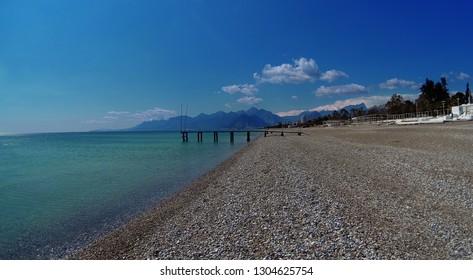 Pebble Beach, Mediterranean Coast