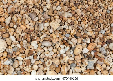 Pebble Stones. Seamless Tileable Text