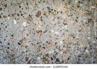 Pebbled concrete abstract background texture