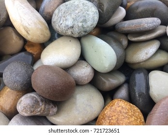 pebbles of the beach photo wallpaper