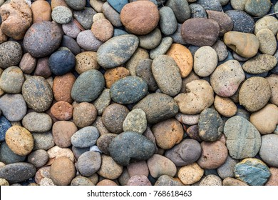 Pebbles stone background