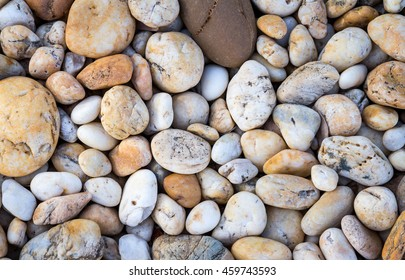 Pebbles stone or river stone background