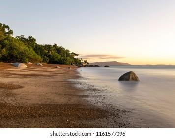 Pebbley Beach on Quarantine Bay, Cooktown, North Queensland