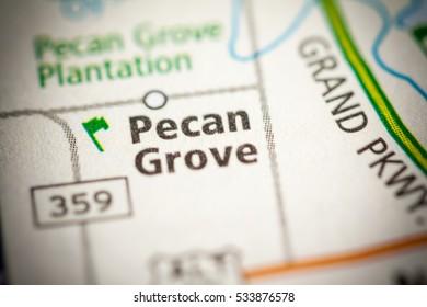 Pecan Grove. Texas. USA
