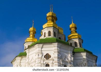 Pecherska Lavra , The unesco world Heritage site  in Kiev the capital of Ukraine