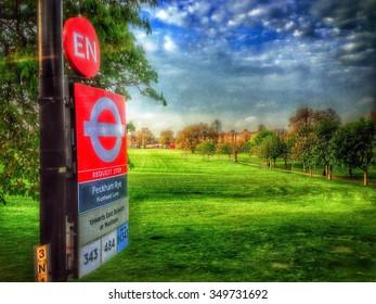 Peckham Rye bus stop