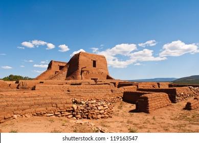 Pecos National Historic Park near Santa Fe, New Mexico, USA