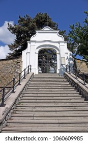 Pecs cemetery entrance Kalvaria Hungary