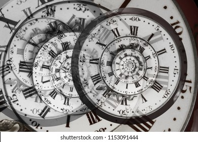 Peculiar table watch dial