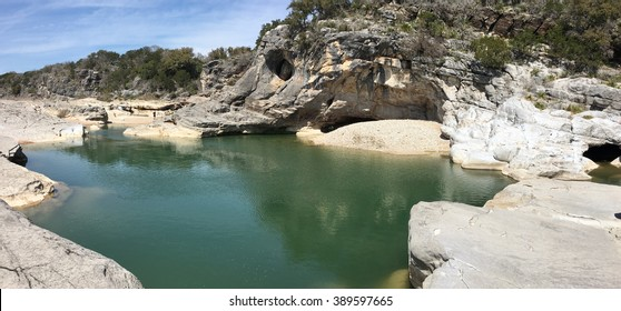 Pedernales River in Texas