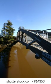 Pedestrian Bridge over waterway