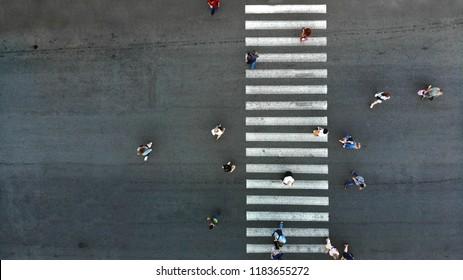 Pedestrian crosswalk background