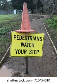 Pedestrian Safety Sign