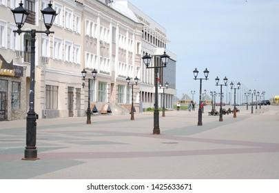 Pedestrian street(Bauman) in the city center