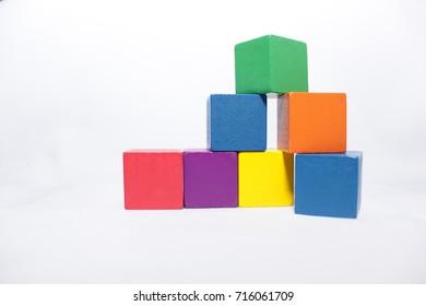 Pediatric blocks toys for developmental assesment