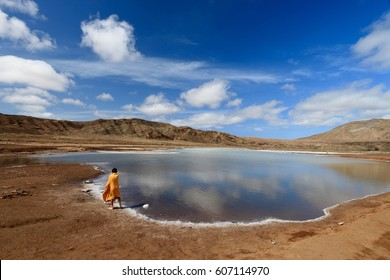 Pedra Lume Salt Crater , SAL ISLAND , CAPE VERDE