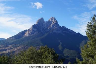 Pedraforca Mountain, Saldes, Catalonia, Spain