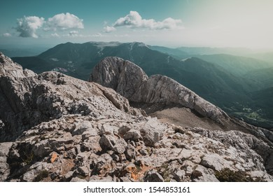 Pedraforca from the top, mountain