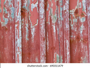 Peeling Barn Wood