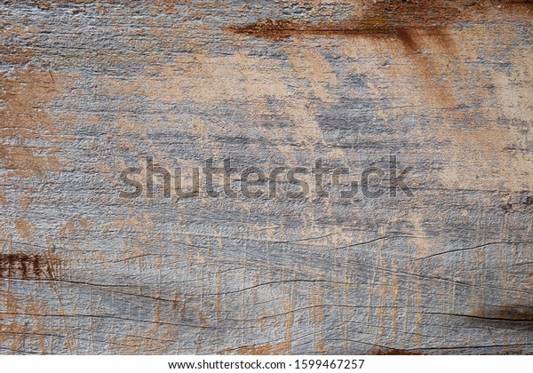 Peeling brown and aged background texture