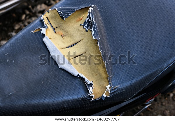 Excellent Peeling Faux Leather Couch Closeup Damaged Stock Photo Edit Forskolin Free Trial Chair Design Images Forskolin Free Trialorg