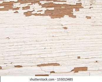 """Peeling Paint"" Peeling paint on old wooden siding"