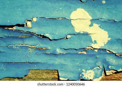 peeling paint texture as background