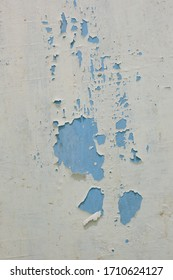 peeling white paint background and texture