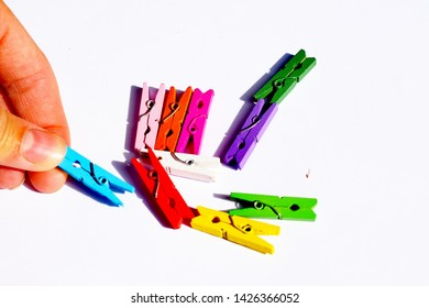Aclothespin orclothes peg is afastenerused to hang upclothesfor drying, usually on aclothes line. Clothespins often come in many different designs