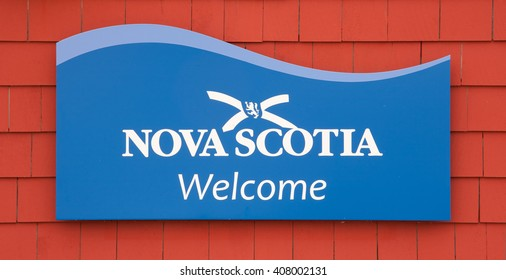 PEGGYS COVE, CANADA - APRIL 18, 2016: Nova Scotia is a maritime province of Canada with a population of approximately 922,000. Halifax is the capital of Nova Scotia.