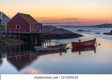 Peggys Cove Fishing village