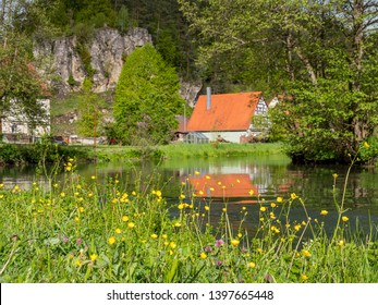 In the Pegnitz Valley in the Franconian Switzerland