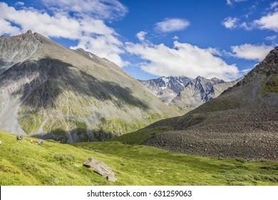 Peisaj Altai mountains,Russia