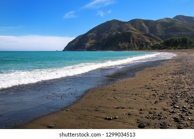 Peketa Beach near Kaikoura, South Island, New Zealand
