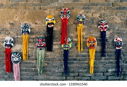 Peking Opera mask, Chinese Traditional Culture