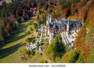 Peles Castle and it's gardens