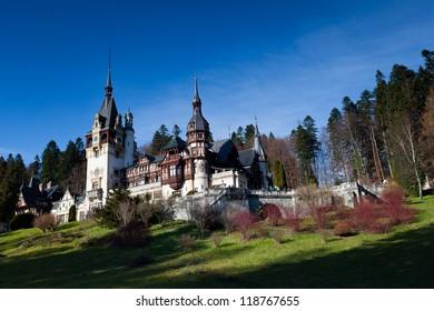 Peles Castle, Sinaia,Romania