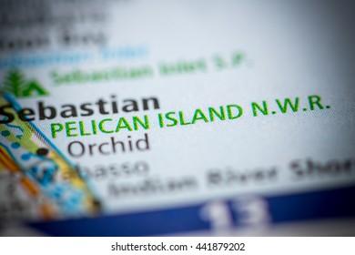 Pelican Island N.W.R. Florida. USA